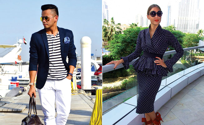 Fashion bloggers in Dubai - Stylechoreo and Shoestova