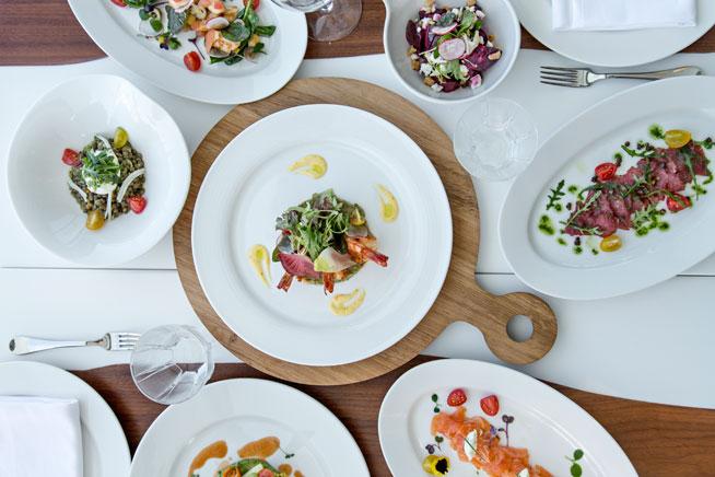 Cove Beach restaurant - new beach club in Dubai