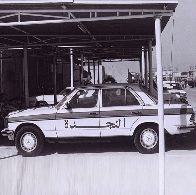 Early Dubai Police car