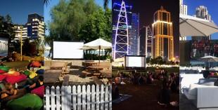 Outdoor cinemas in Dubai