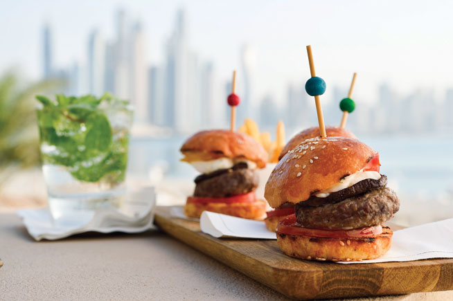 Seagrill On 25 - best burgers in Dubai