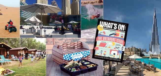 Things to do in Dubai, April issue preview
