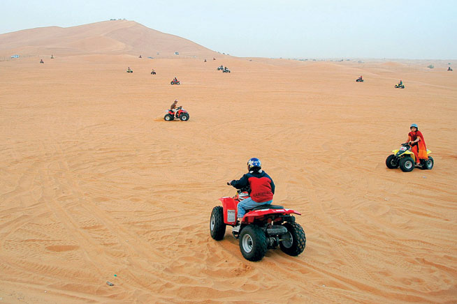 Camping in Dubai and the UAE, at Big Red - a complete guide