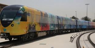 Dubai Metro art work: Abdul Qader