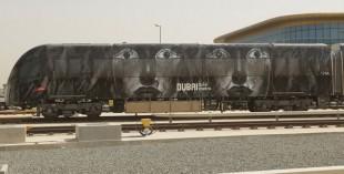 Dubai Metro art work: Safwan Dahoul