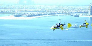 Fly Gyro at SkyDive Dubai