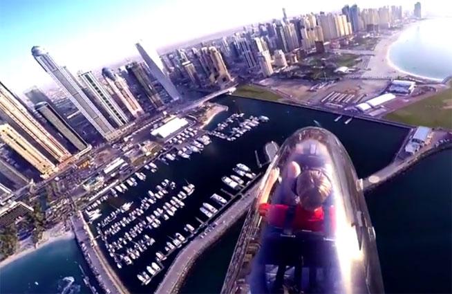 Fly Gyro at SkyDive Dubai