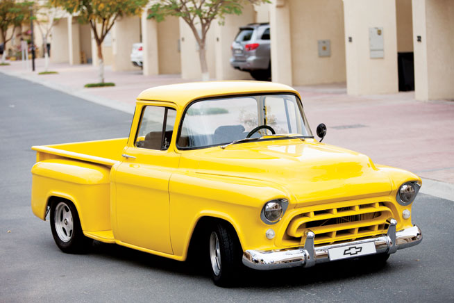 GMC Truck - cool car rentals in Dubai