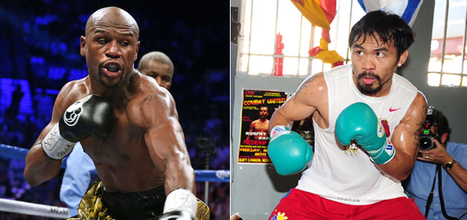 Mayweather v Pacquiao in Dubai at Novo Cinemas
