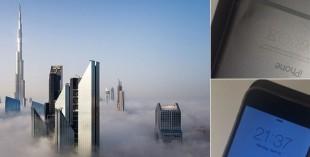 VIDEO: iPhone falls from Dubai skyscraper