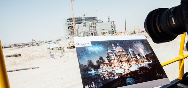 Dubai Parks And Resorts - building site tour, May 2015