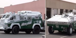 Tank added to Dubai Police cars fleet