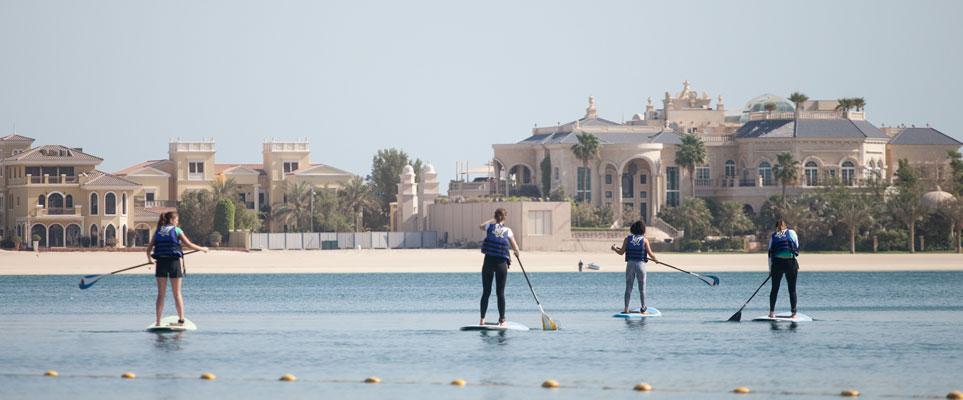 Stand Up Paddleboarding In Dubai Where To Go What S On