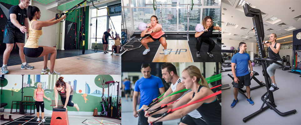 personal training studios in Dubai