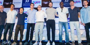 star trek press conference in Dubai full cast and crew