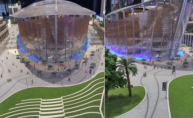 dubai opera models cityscape