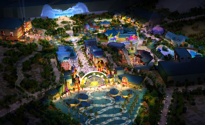 More On Giant Movie Theme Park Motiongate Dubai What S