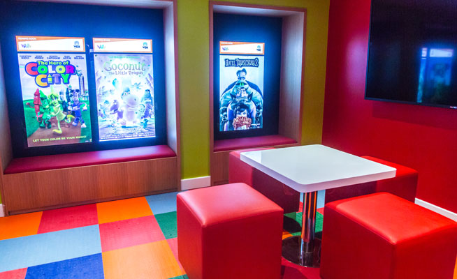 vox cinema kids room