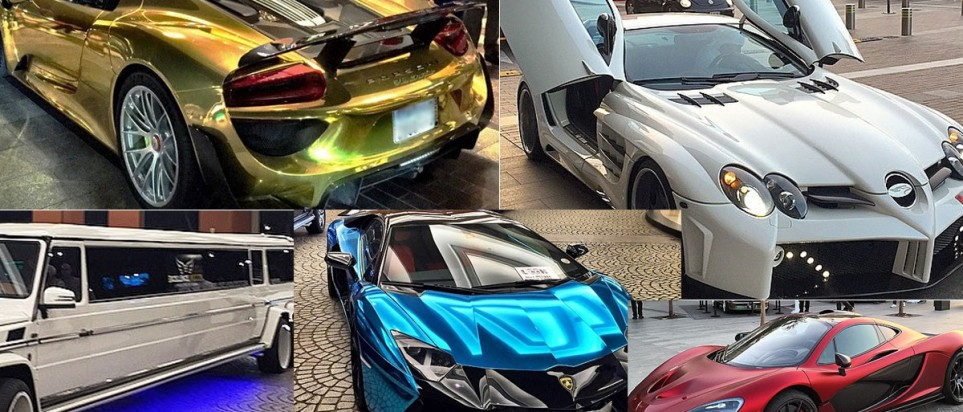 Dubai Supercars 11 Of The Flashiest Cars Ever Seen In The City