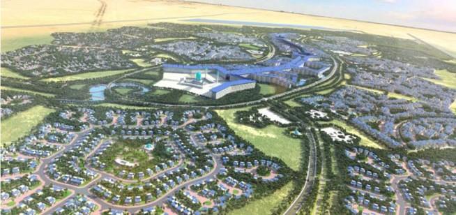 sustainable city desert rose