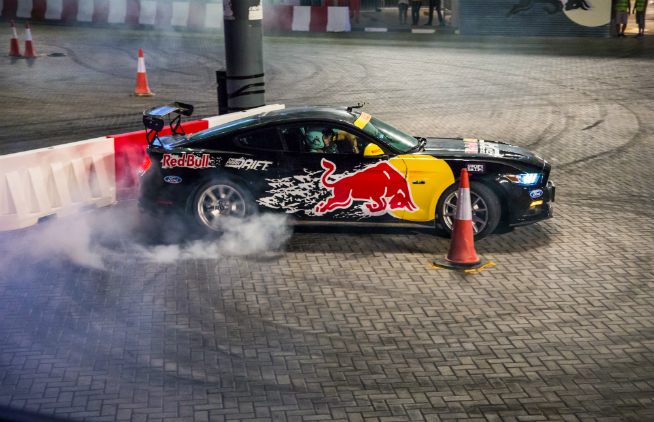 Red Bull Car Park Drift Abdo Feghali