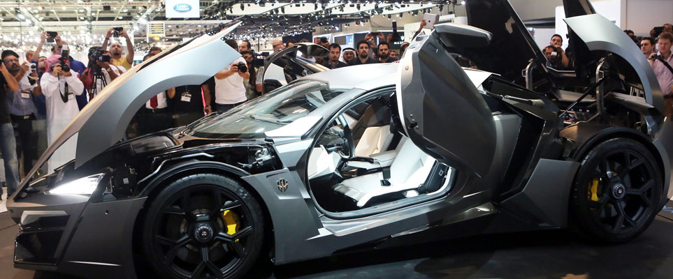 Five Cool Things To See And Do At Dubai Motor Show Whats On Dubai - Dubai car show