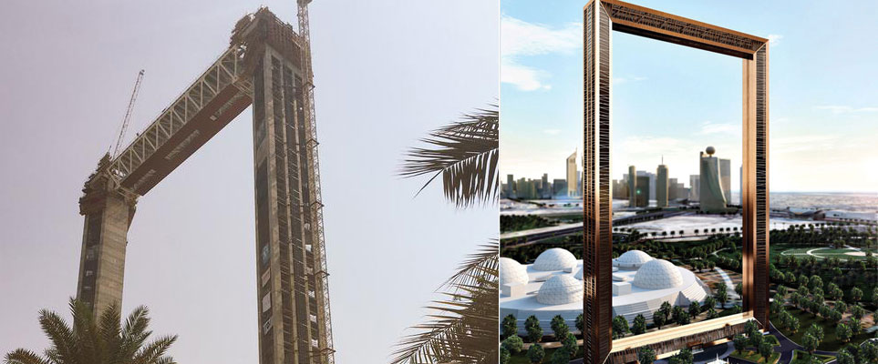 Dubai Frame project to be finished next month - Whats On ...