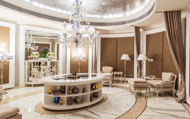 In pics inside the st regis dubai what 39 s on dubai for Best hotel design 2016