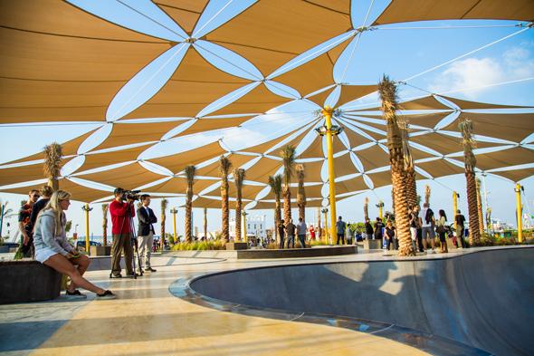 Video New Xdubai Skatepark On Kite Beach What S On Dubai