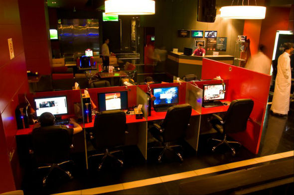 Internet Gaming Cafe