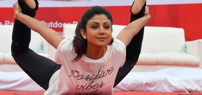 Practice Yoga With Shilpa Shetty For Free At XYoga Dubai