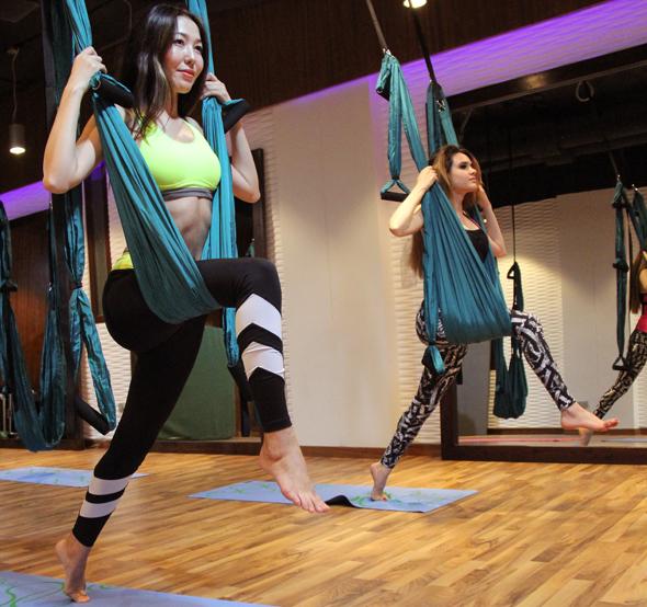 Swing yoga in Abu Dhabi tried and tested