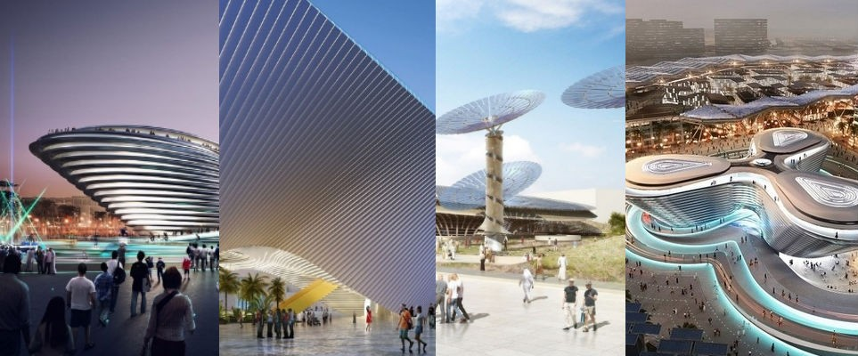 What Three Of The Expo 2020 Buildings Will Look Like