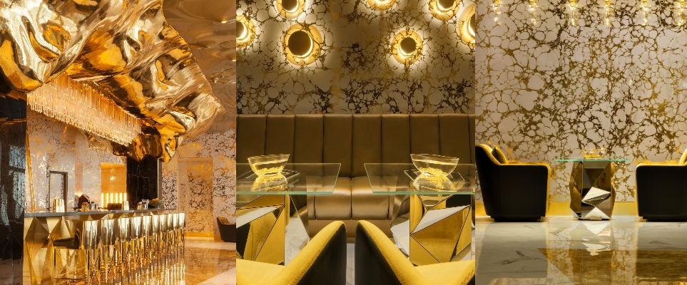 The New Gold On 27 Bar At Burj Al Arab Is Insane in A