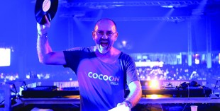 KASTELLAUN, GERMANY - AUGUST 01:  Sven Vaeth performs at the 'Nature One' massive rave, held at the former US rocket base Pydna on August 1, 2014 in Kastellaun, Germany.  (Photo by Thomas Niedermueller/Getty Images)