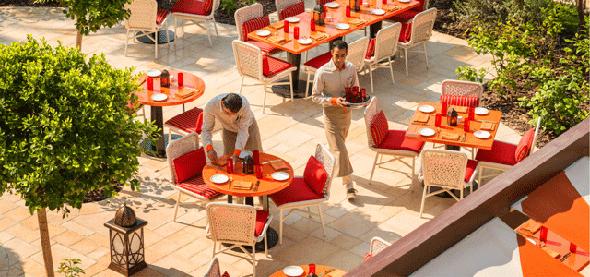 Image result for The Raffles Dubai Garden Brunch