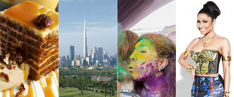 15 things to do in dubai this weekend what 39 s on dubai for Something different to eat tonight
