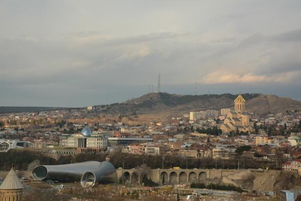 View from Narikhala