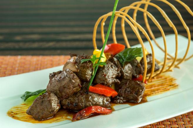Black pepper beef- Noodle Box