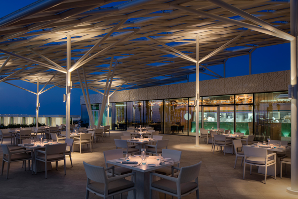 Take a look at the just opened burj al arab terrace what for The terrace bar and food