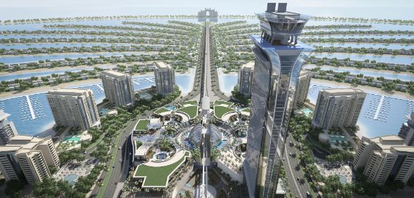 Nakheel Mall On Palm Jumeirah 50 Per Cent Complete What