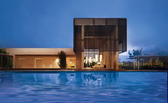 Oberoi al zorah a sleek new eco resort opening in ajman what 39 s on dubai for Public swimming pools in ajman