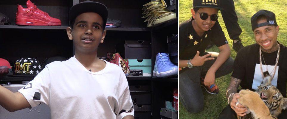 Rashed Belhasa Meet The Uae Teen With A Dhs200 000 Shoe Closet