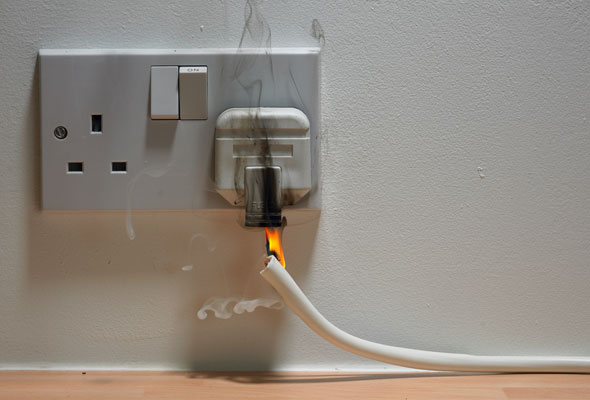 electrical fault fire