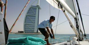 boat capsize dubai