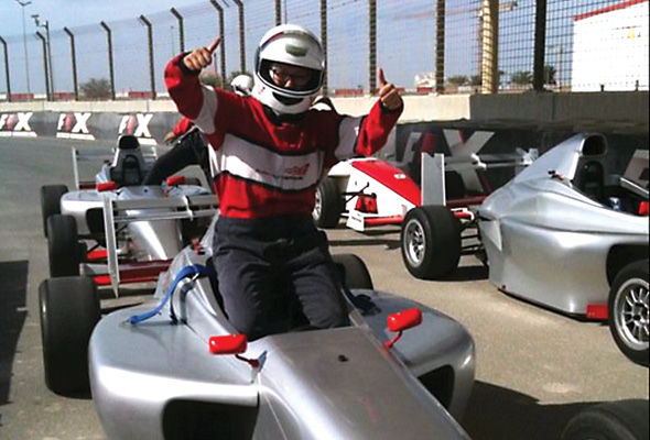 Single-seater F1-style experience