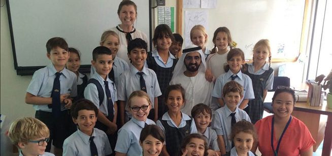 Sheikh Mohammed Visits His Daughter At School What S On Dubai