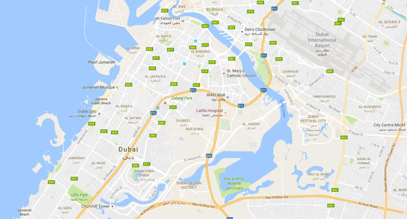 dubai-canal-maps