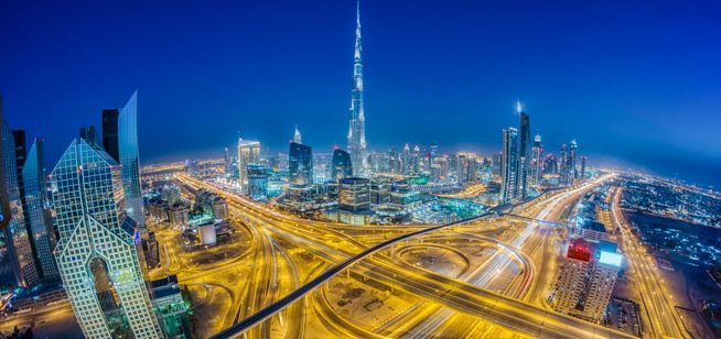 Image result for Dubai night
