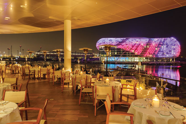 19 of the best places to eat outdoors in abu dhabi what for Ristorante cipriani abu dhabi